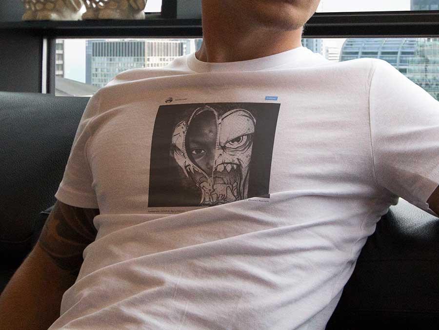 Social Media Post Art Tshirt Luvelli